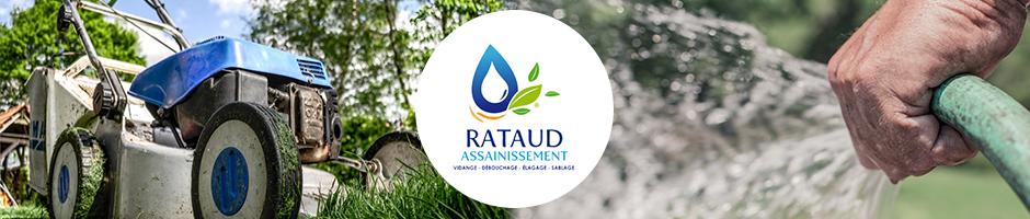 Rataud propose ses services d'entretien des espaces verts